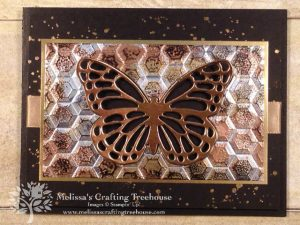 Today's Tarnished Foil Technique project features the awesome Hexagons Embossing folder which is retiring on 6/3/19. See more cards made with this technique & folder!