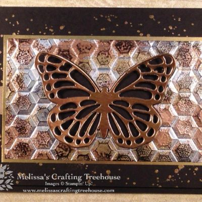 Hexagons & Tarnished Foil #4
