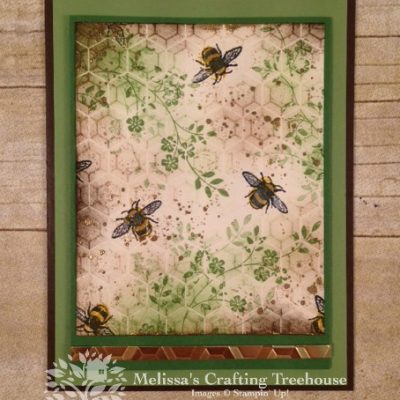 Bees with Hexagons and Touches of Texture