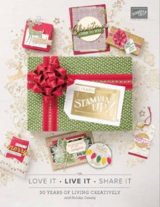 Today's project features the Beautiful Blizzard Bundle from the awesome 2018 Holiday Catalog by Stampin' Up!