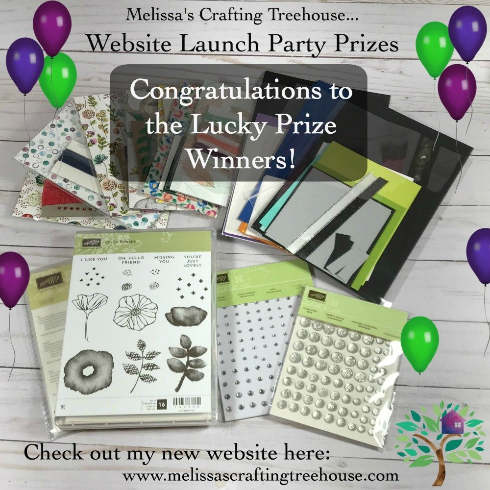 Website Launch Party Prize Winners