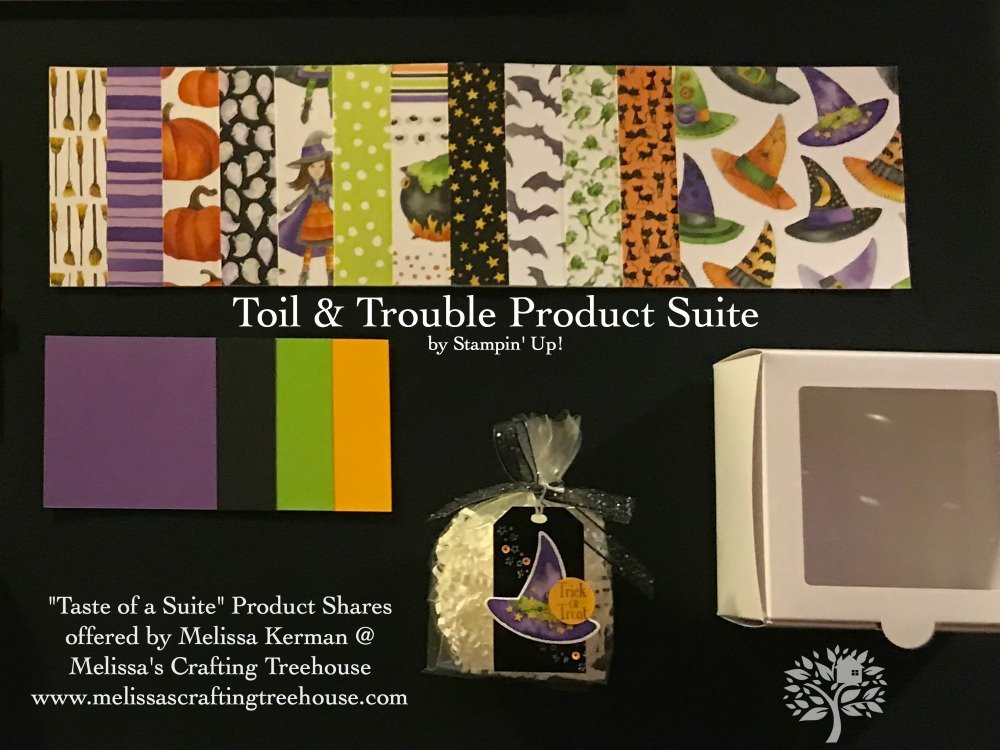 2018 Holiday Catalog Taste of a Suite Product Shares Now Available to PreOrder!Toil & Trouble Suite Shown Here.