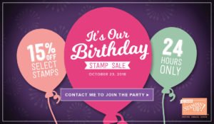 Stampin' Up! Flash Sale