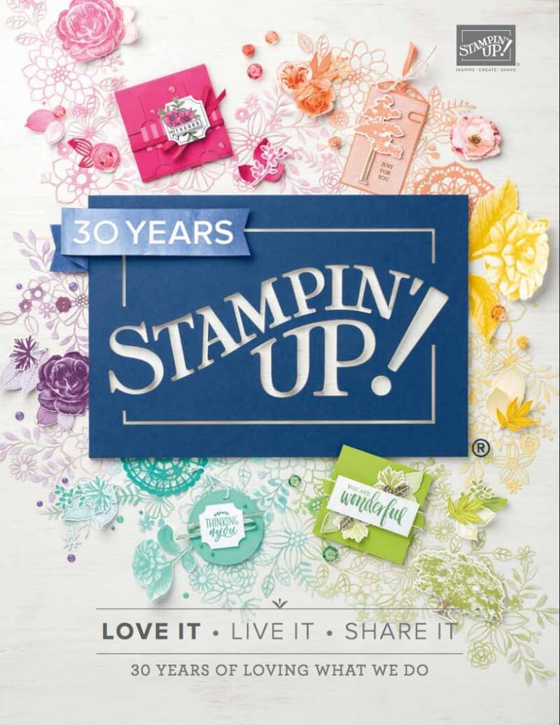 Stampin' Up! AnnualCatalog 2018-2019