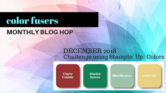 Color Challenge for the Color Fusers Blog December 2018