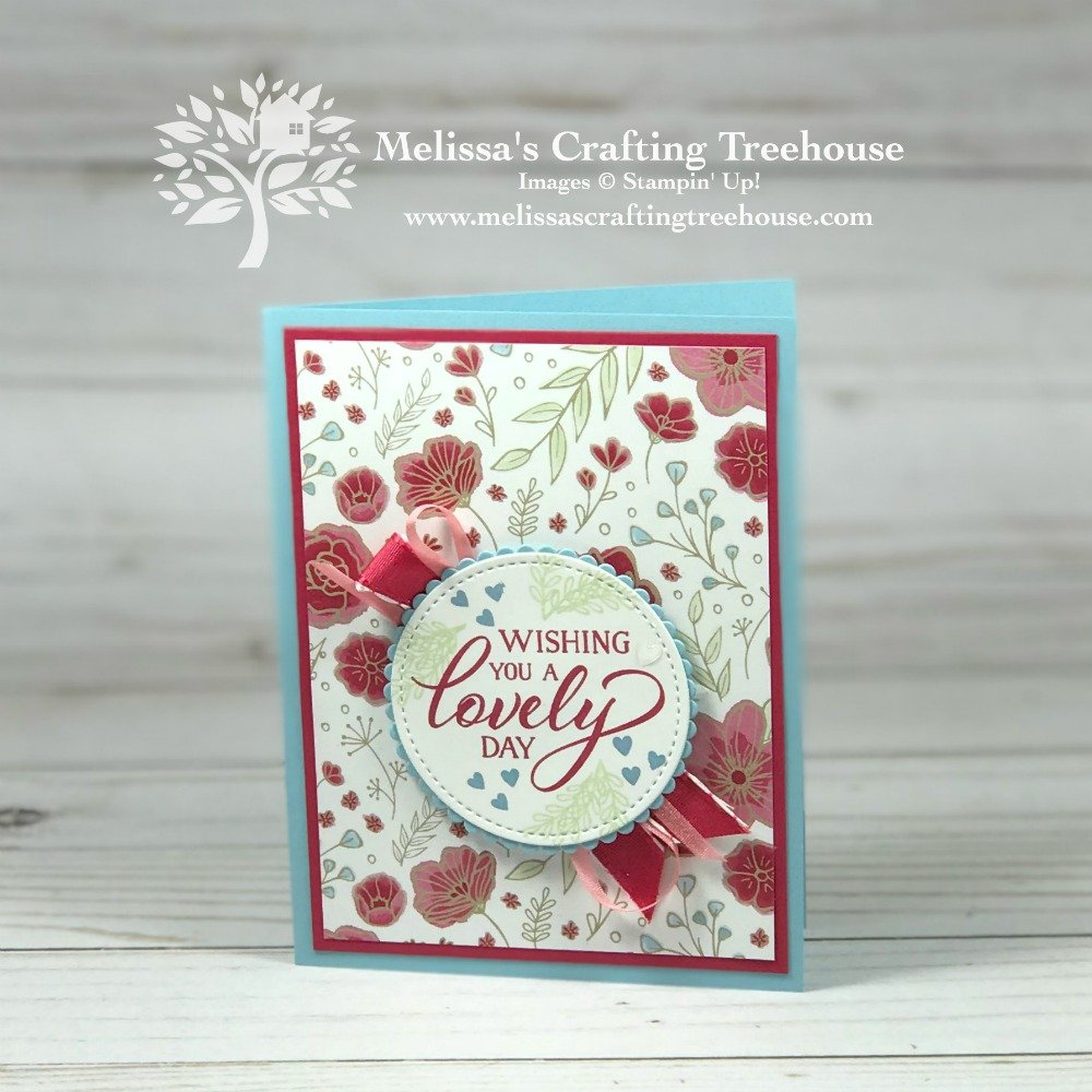 Today's post features some super easy card making ideas that use the All My Love Product Suite from the Stampin' Up! Occasions Catalog. Clean, simple and easy! Gotta love that!