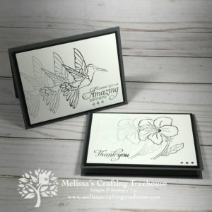 Today's post features some super easy card making ideas that use the Stamparatus by Stampin' Up! Clean, simple and easy! Gotta love that!