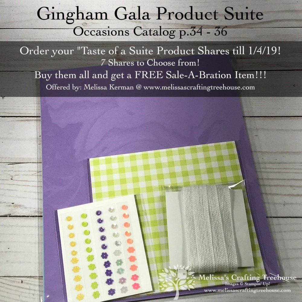 "Sale-A-Bration has begun and the Occasions Catalog is LIVE. Check out some projects and get products to make them with my ""Taste of Suite"" product shares!"