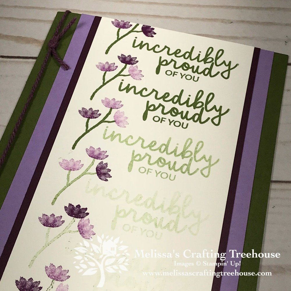 Today's project features the Incredible Like You Stamp Set from the 2019 Occasions Catalog and the Stamparatus by Stampin' Up!.
