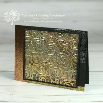 Embossing Techniques with Tarnished Foil