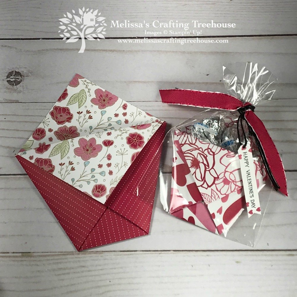 Today's Facebook Live features four homemade Valentines Day ideas including a card & 3-D items. Projects are made with the All My Love suite by Stampin' Up!