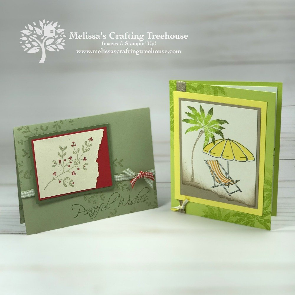 Today's project features two step stamping, the rock n' roll technique and the Beach Happy Stamp Set for a fun, summery design anyone would love!