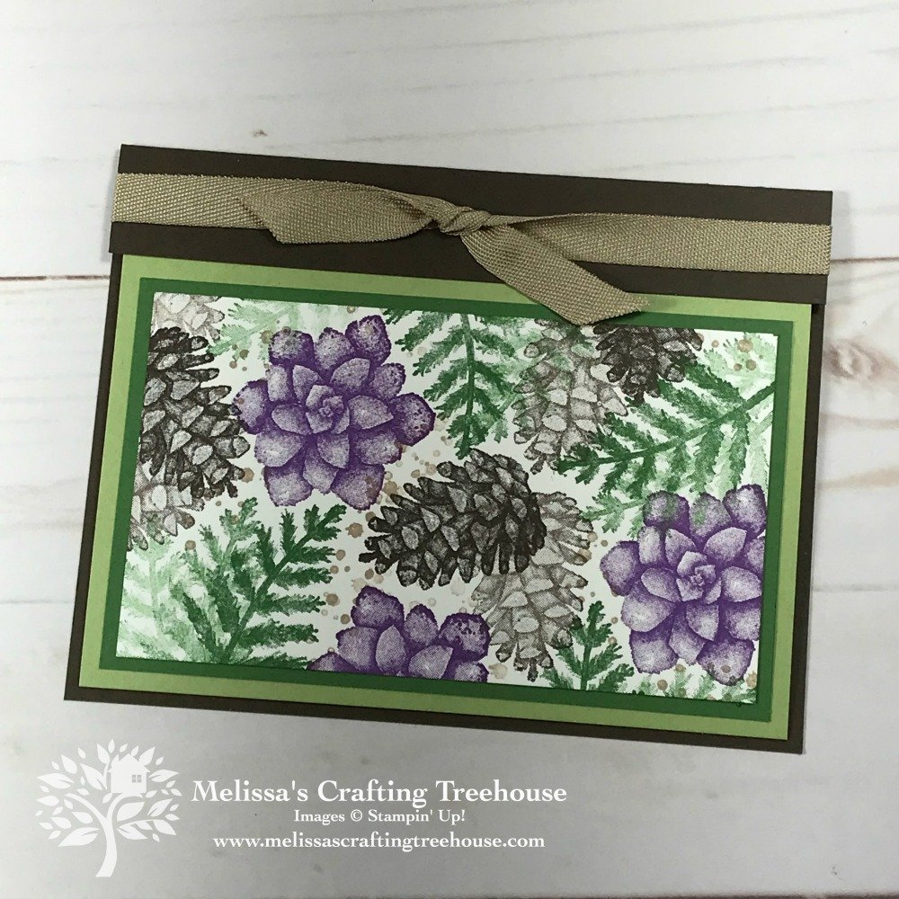 Today's fun fold cards were created using the Painted Seasons Stamp Set, which, is available as part of a FREE bundle during Sale-A-Bration (ends 3/31/19).