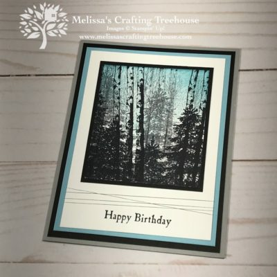 Easy Card Making with Winter Woods