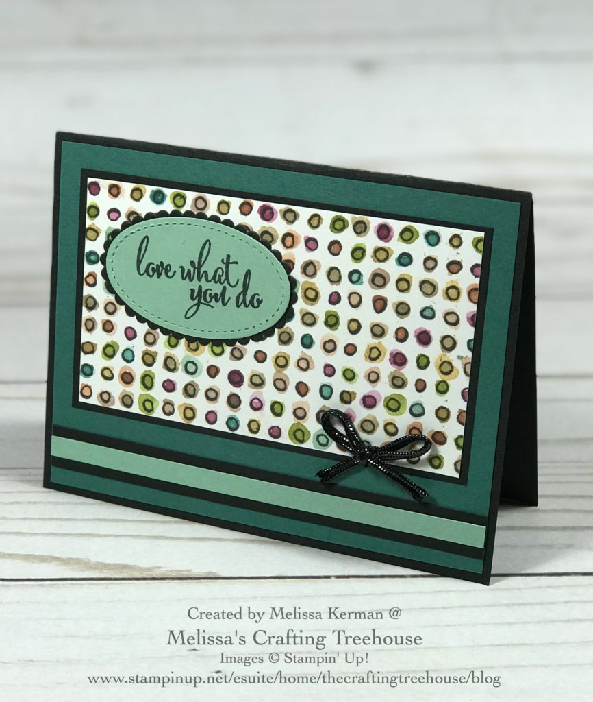I'm just loving the Share What You Love Suite, especially the designer series paper, which is the featured product today. This paper retires 6/3/19!