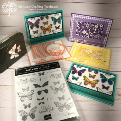 Gingham Gala Tutorial Bundle Projects