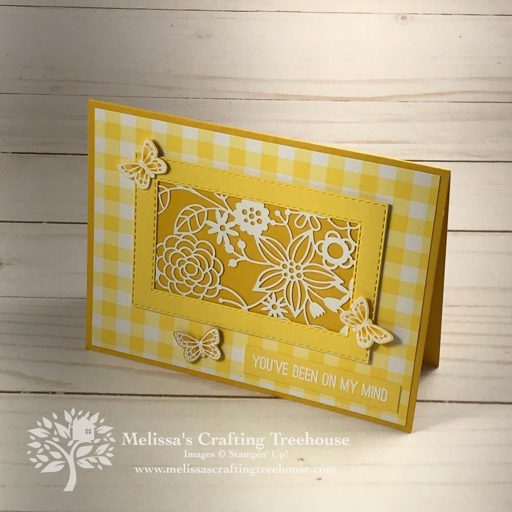 Check out my sneak peek of the April Simple Suite Stampers tutorial bundle that features the Gingham Gala product suite! I'll show 3 of the 8 projects!