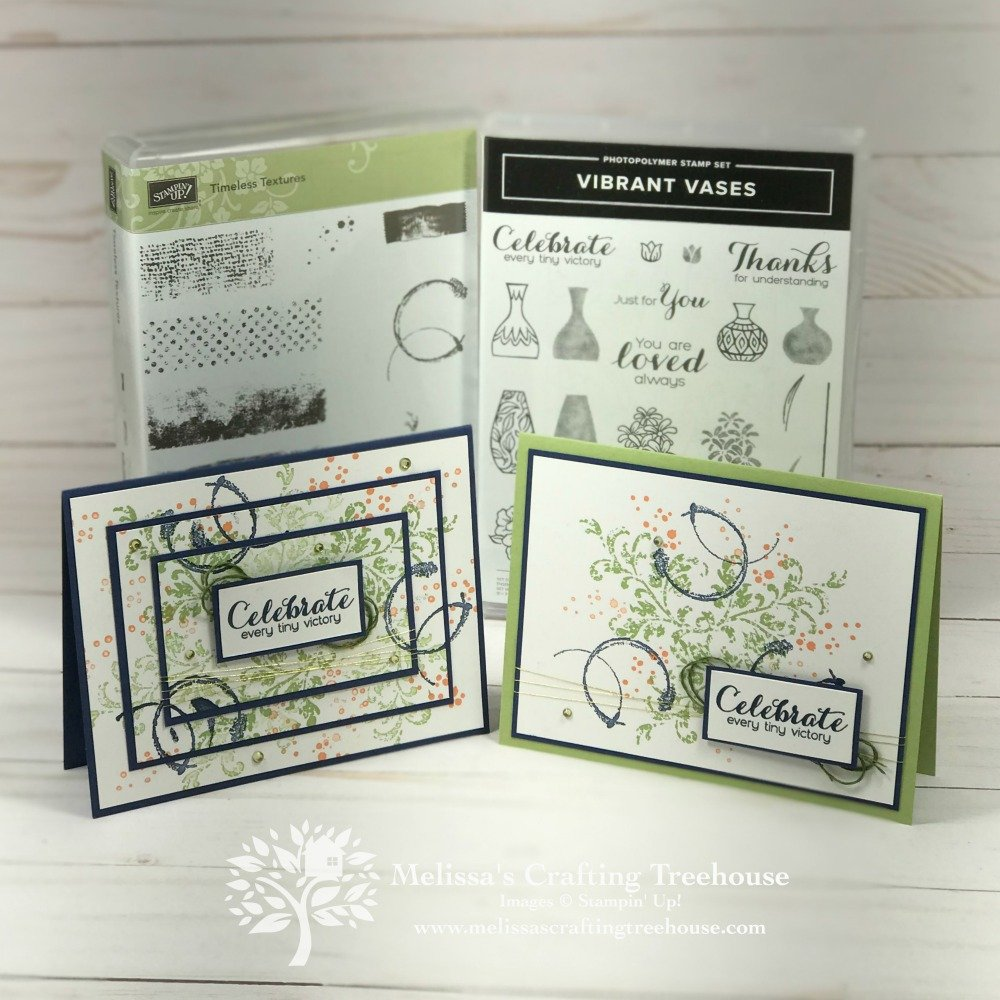 Welcome to the Color Fusers Blog Hop and May 2019 Color Challenge! Todays cards feature the Timeless Textures Stamp Set, and Triple Time Stamping!