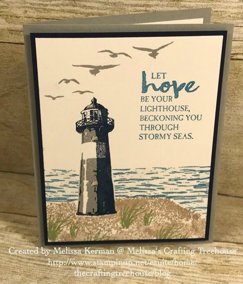 Today's project features the High Tide Stamp Set and a must-know paper crafting technique called masking! It's a little like magic!!!