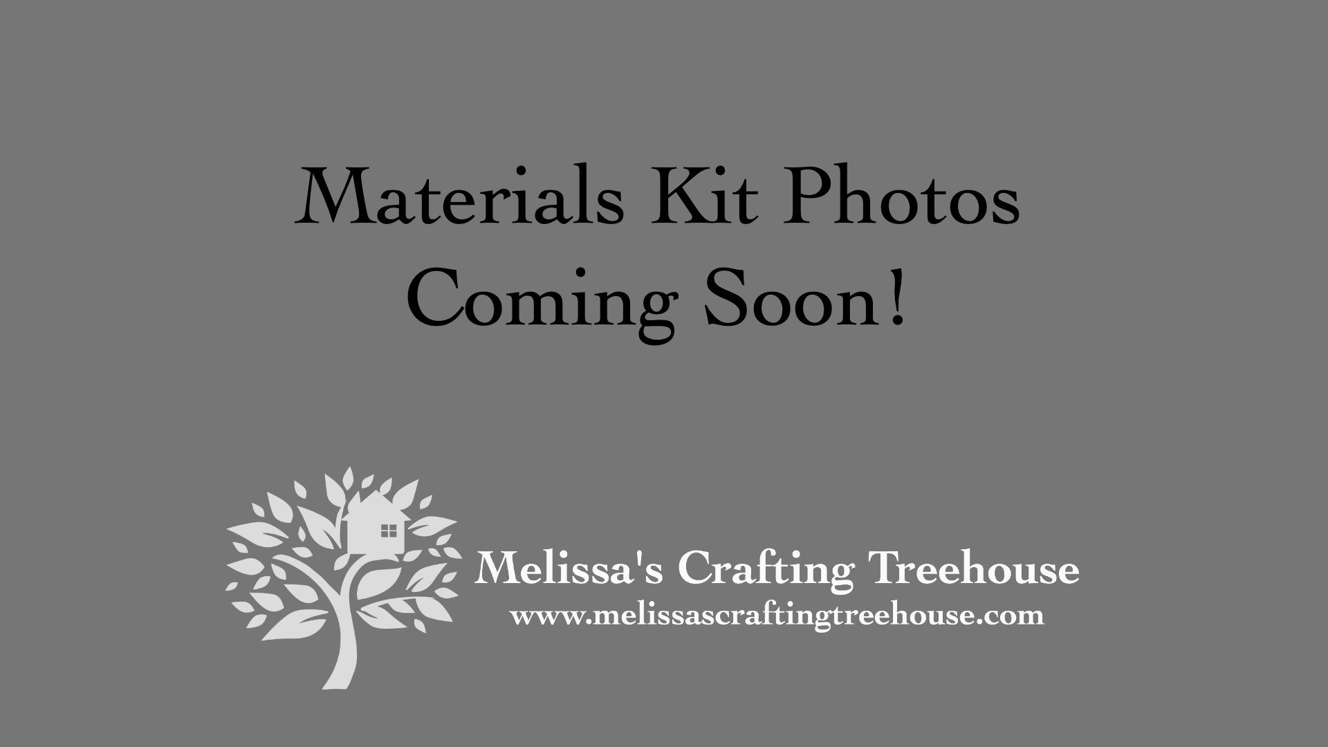 Material Kit Photos Coming Soon