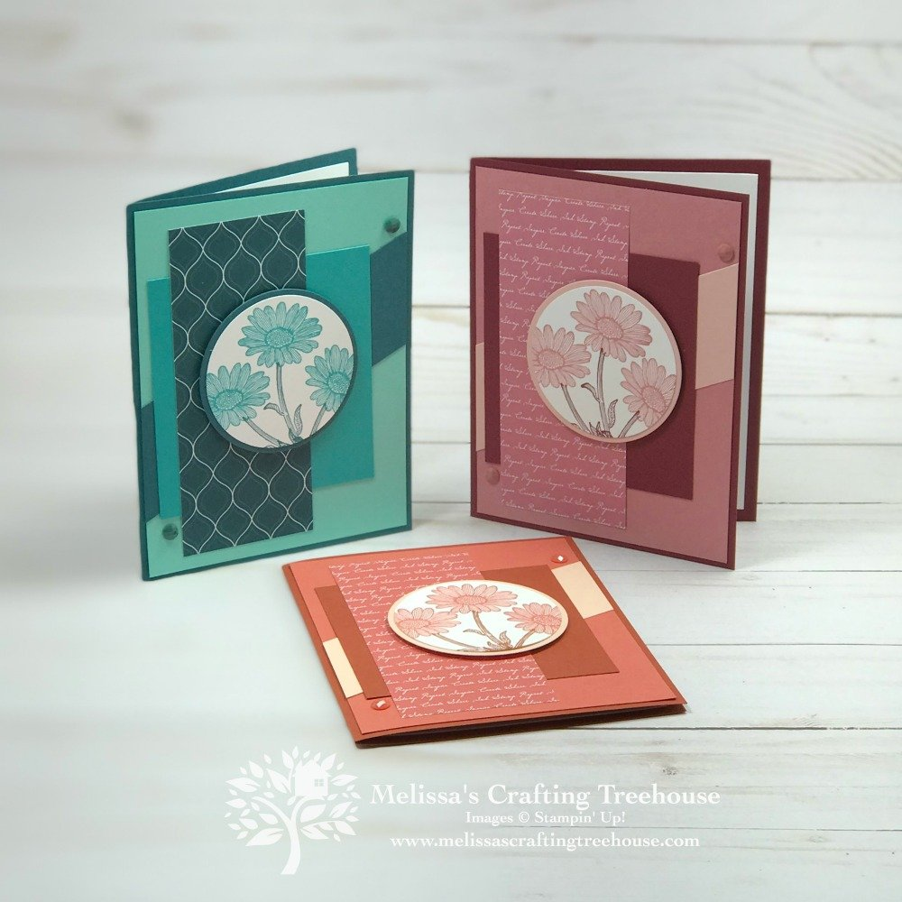 Today's post includes 11 cards featuring the NEW 2019 - 2021 Stampin' Up! In Colors. These are sneak peeks of the June 2019 Tutorial Bundle.
