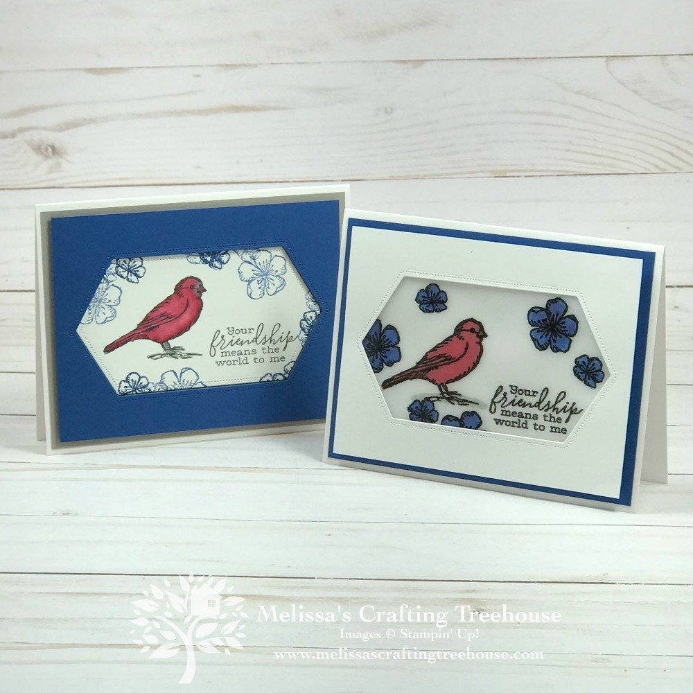 Today's projects were made for the June Color Challenge and Color Fusers Blog Hop. The Free As A Bird Stamp Set & Stitched Labels Nested Dies are featured.