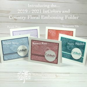Today's post includes 11 cards featuring the NEW 2019 - 2021 Stampin' Up! In Colors. These are sneak peeks of the June 2019 Tutorials Bundle.