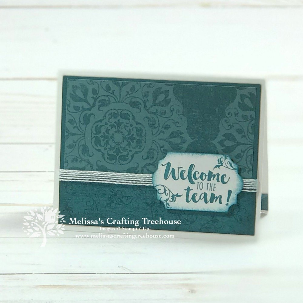In today's post I'll be sharing some simple DIY cards made with the Woven Threads Product Suite. These projects also feature the NEW 2019 - 2021 InColors.