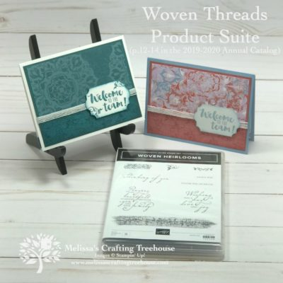 Simple DIY Cards & Woven Threads Suite