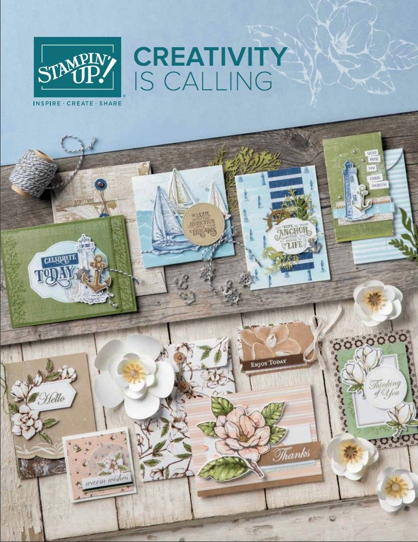 2019 - 2020 Stampin' Up! Annual Catalog
