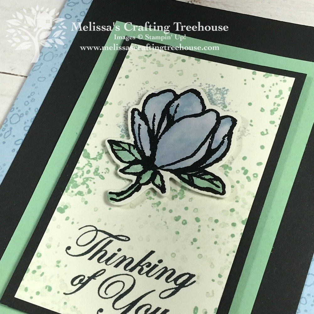 The project in this post features the easiest quick coloring method ever plus some additional coloring variations! I've used the Good Morning Magnolia and Artisan Textures stamp sets.
