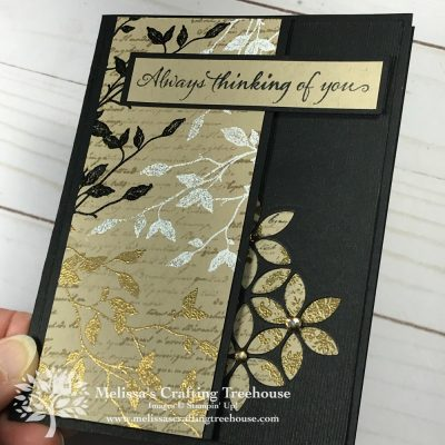 Elegant handmade cards with Very Versailles