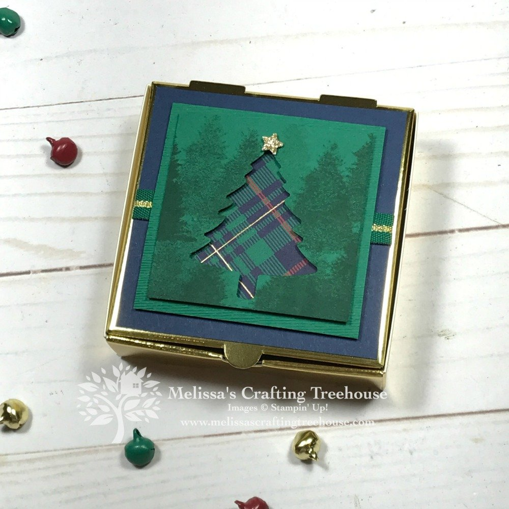 Learn two awesome paper crafting tips, and see three fun Christmas projects that are made using the Wrapped in Plaid product suite by Stampin' Up!.