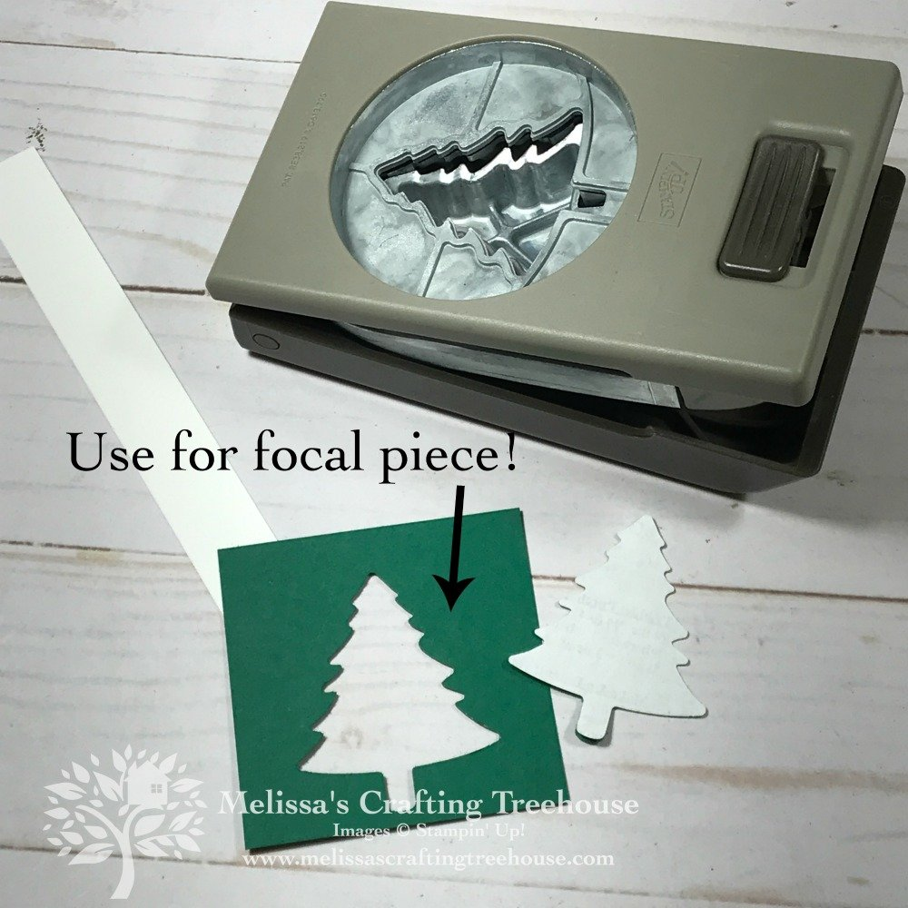 Check out my handmade Christmas Card and a great tip for perfect placement when punching. Project features the Wrapped In Plaid product suite.
