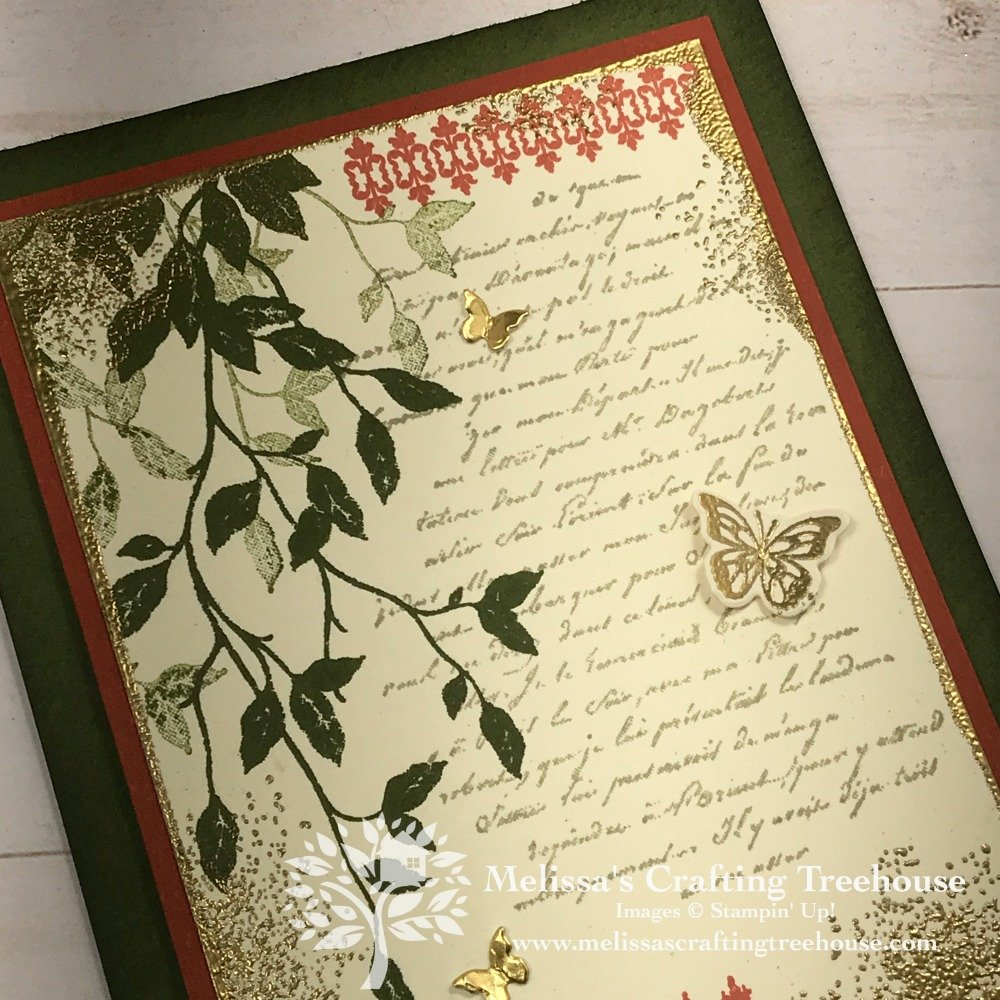 The stunning project in this post features a vintage collage made with the Very Versailles Stamp Set, a new item in the 2019 - 2020 Stampin' Up! Catalog.