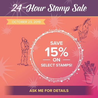 24 Hour Sale! – 15% Off Wednesday ONLY!