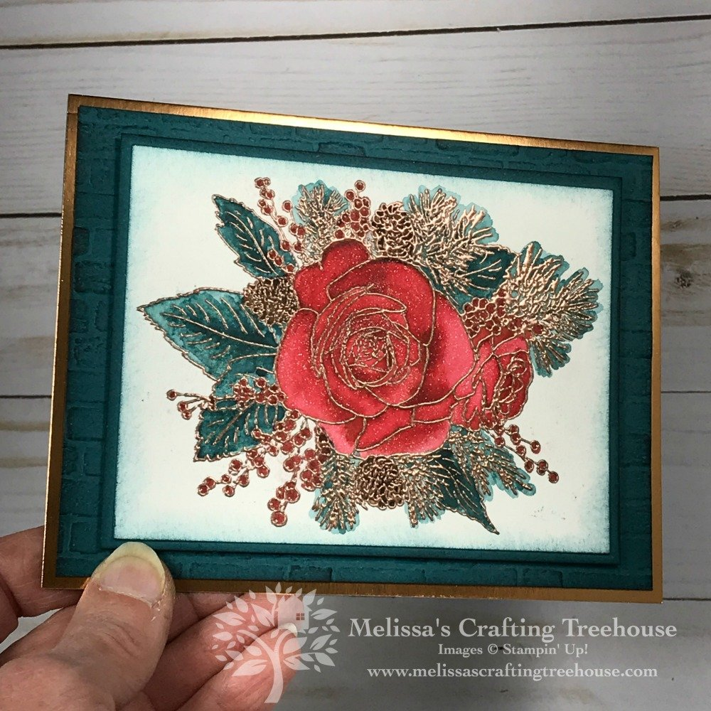 Today's project was made for the November 2019 Color Challenge and Color Fusers Blog Hop. It's a Christmas color scheme but not necessarily a Christmas project.