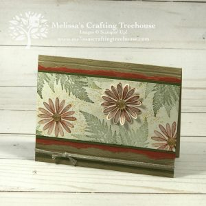 Today's card is made with the Daisy Lane bundle and Artisan Textures Stamp Sets. This is one of three free card kit projects for Sept/Oct 2019.