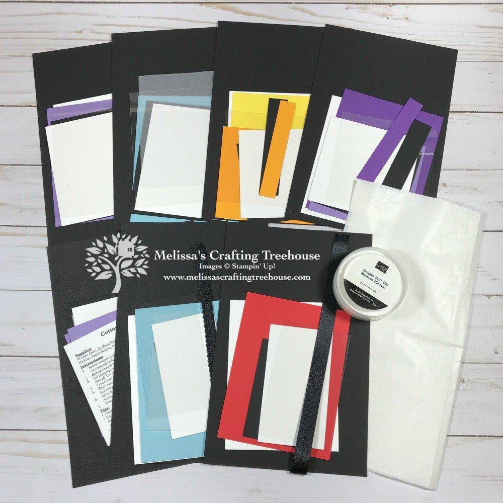 Cotton Candy Technique Class Materials Kit Contents