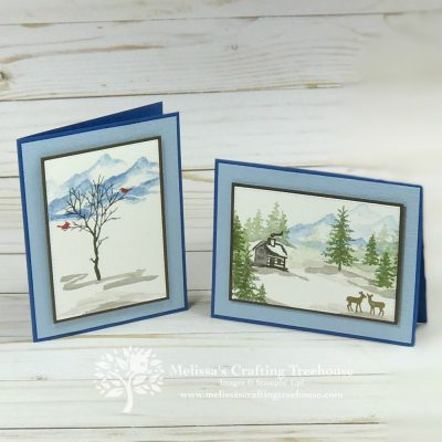 Winter Scenes with the Snow Front Set
