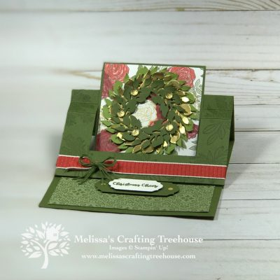 Swing Easel Cards for Christmas