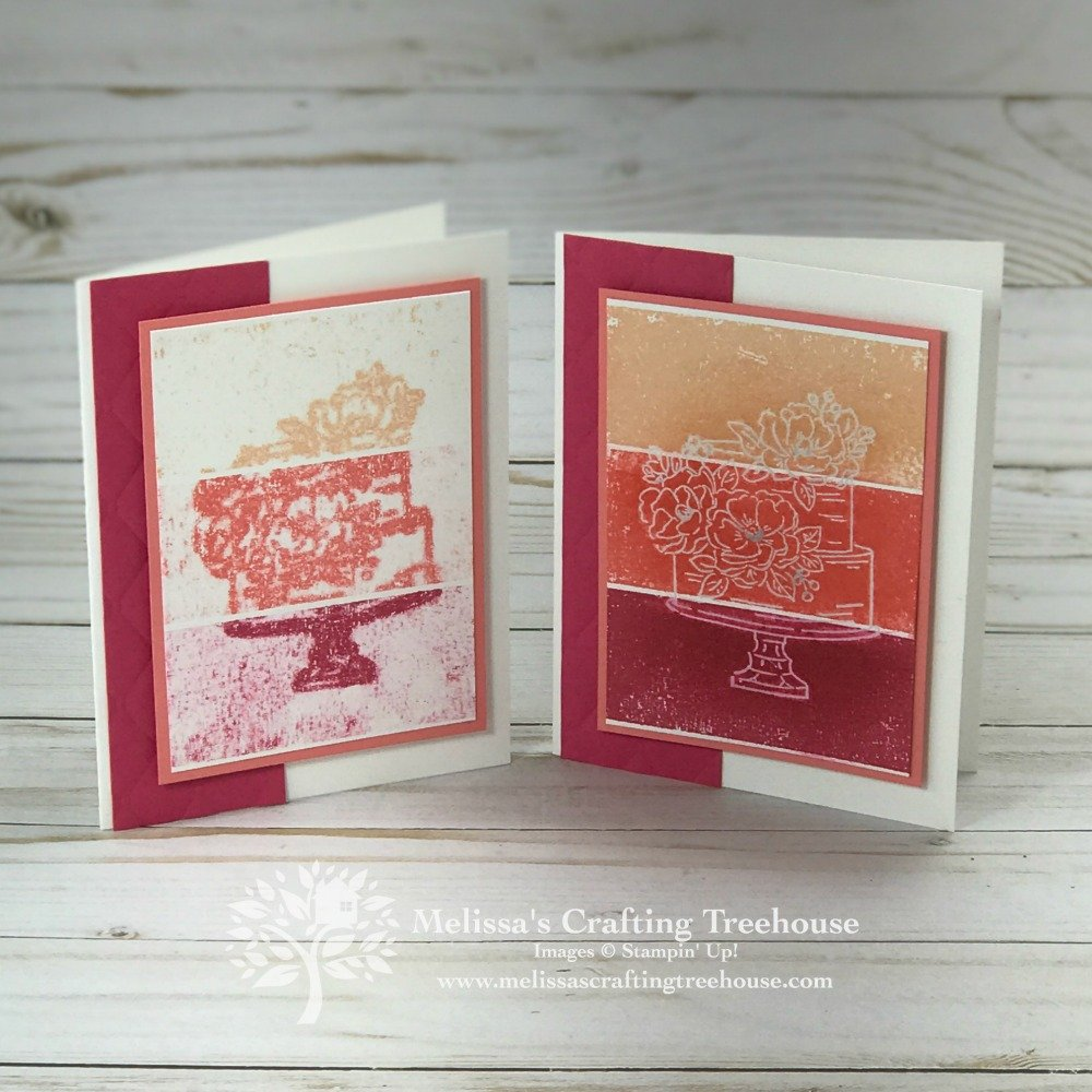 In today's post, I'll be sharing some new product sneak peeks, some flip flop fold cards, plus an original technique I call Reverse Resist Stamping.