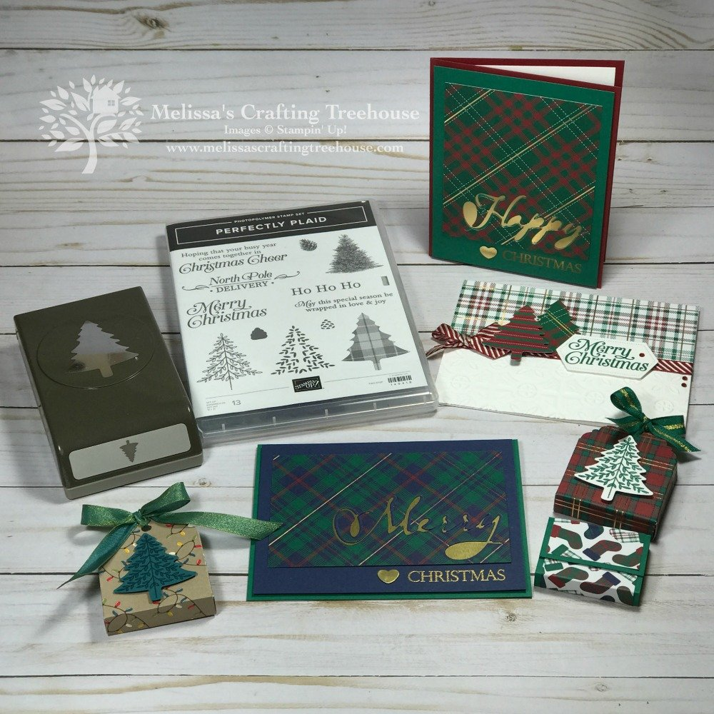 The Perfectly Plaid Bundle and product suite are the featured products of today's post and the December 2019 Simple Suite Stamper's Tutorial Bundle.