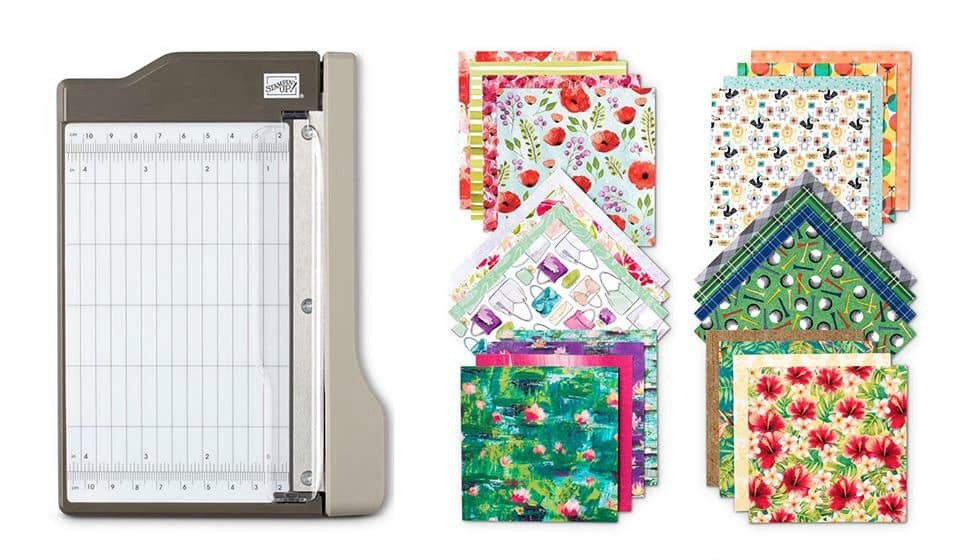 Today the 2020 Sale-A-Bration promotion goes live! I'll be sharing a project made with the Power of Hope Bundle, which is FREE with qualifying orders. This bundle includes the Stone 3-D Embossing Folder and the Power of Hope Stamp Set.