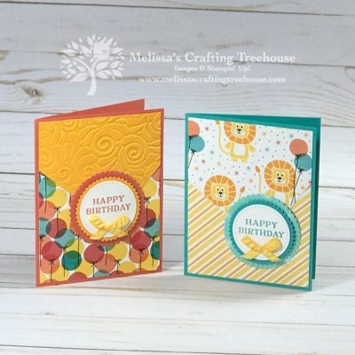 Birthday Bonanza Stampin' Up! Cards DieCut Trick