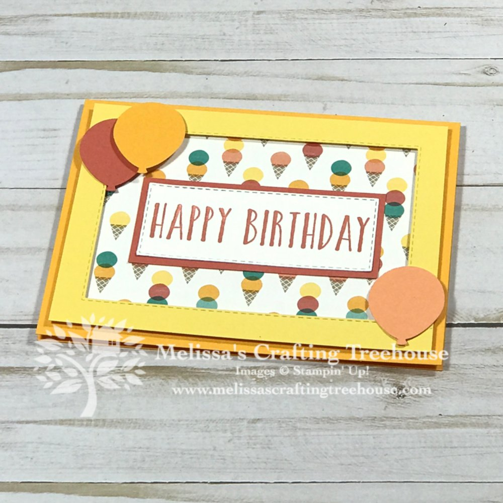 Check out 5 simple birthday cards that feature the Birthday Bonanza designer series paper and a sneak peek into this month's tutorial bundle.