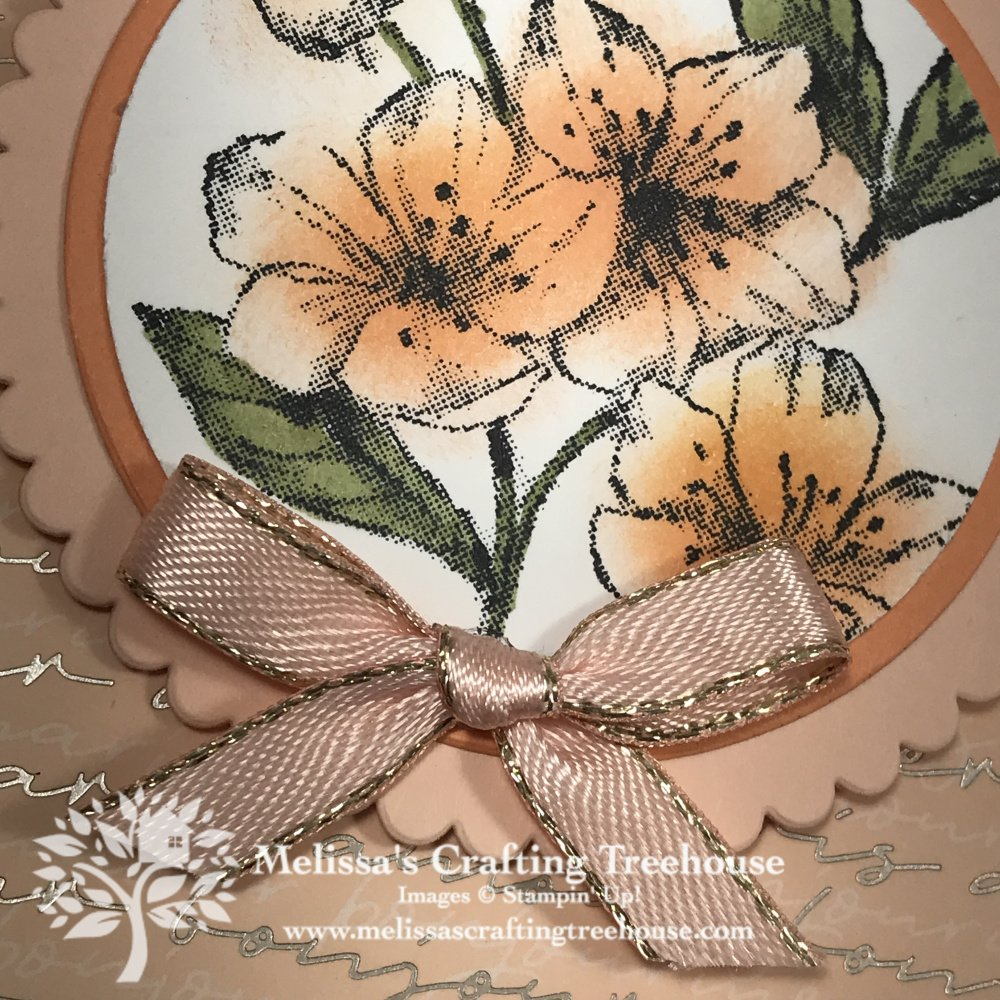 Forever Blossoms Stamp Set Class
