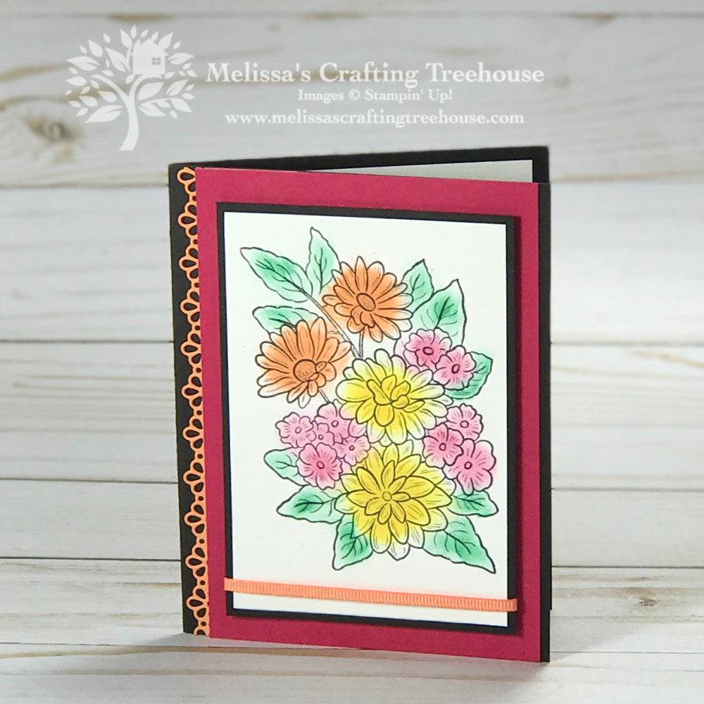Check out today's super Quick Cards with the Ornate Style Set! I've used sponge daubers for my coloring in with the retiring 2018-2020 InColors.