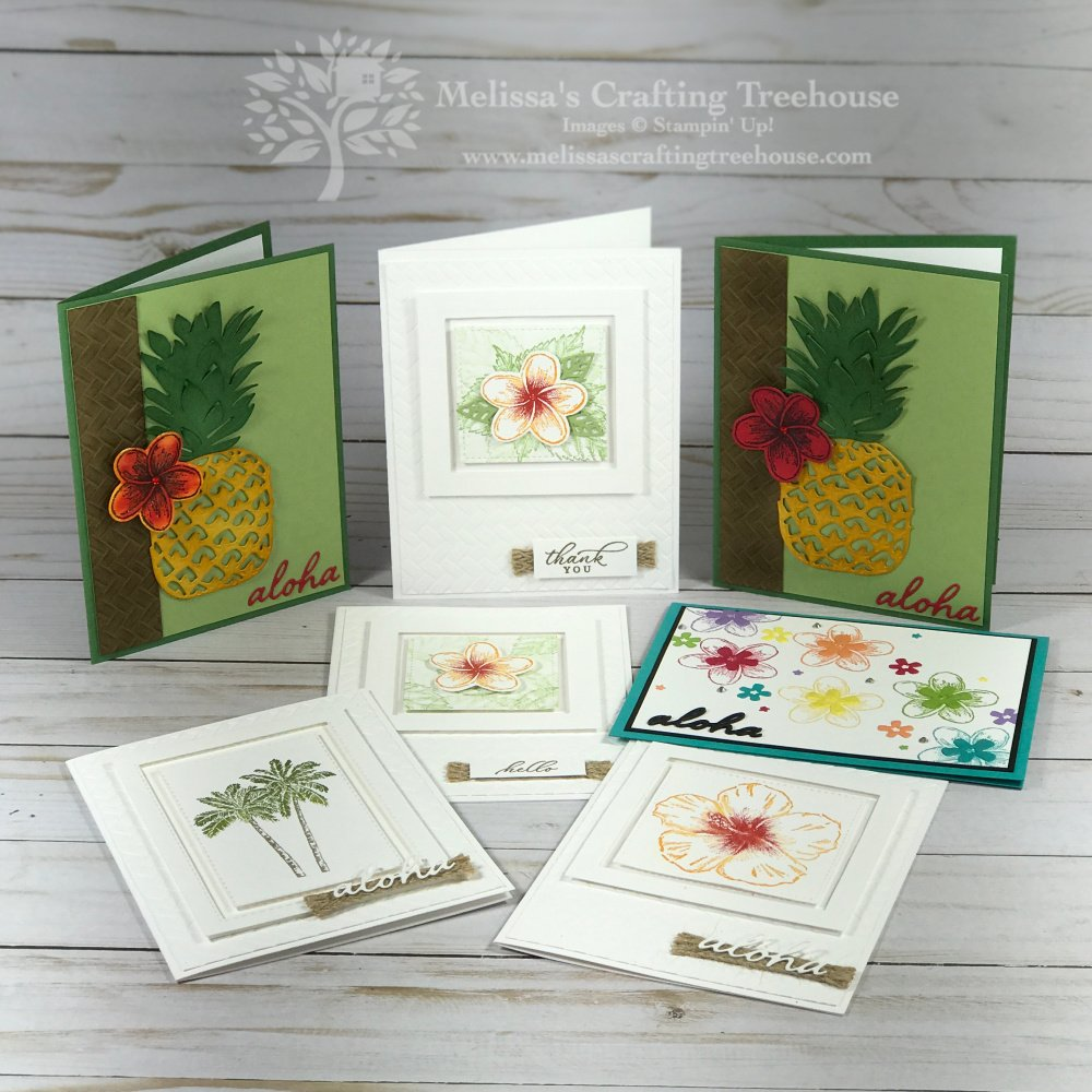 These 3 tutorial bundle sneak peek projects use the Tropical Oasis suite but they couldn't be more different. Check out this fun versatile product suite!
