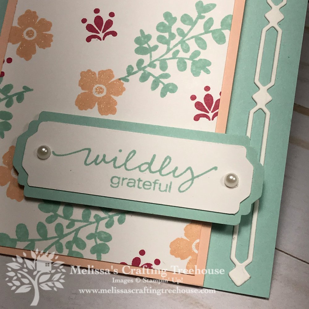 The color scheme for the June 2020 Color Challenge and Blog Hop produced some unexpected results featuring the Lovely You Stamp Set & Many Medallions dies.